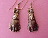 Darling Little Bunny Rabbit Earrings