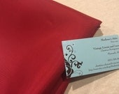 Taffeta, Vintage Red Taffetta fabric remanent for crafts, sewing, doll, bridal, baby, couture, costume by MarlenesAttic