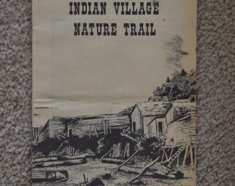 Indian Village Nature Trail Leaflet from 1975