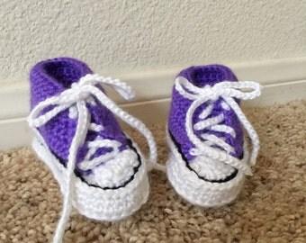 Purple Booties