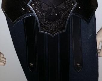 Leather Armor Fantasy Gladiator War Skirt