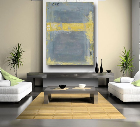 Items Similar To Large Abstract Painting Original Acrylic