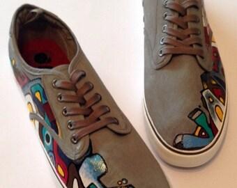Men's Graffiti Shoes