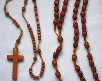 Kids Wood Rosaries