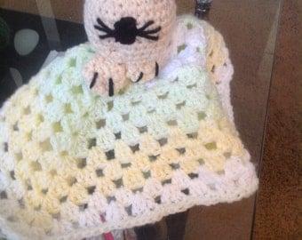Kitty comfort blanket Lovey