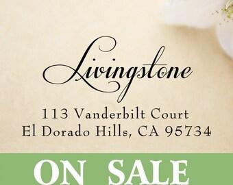 SELF INKING custom return address stamp,personalized wedding address stamp,S011 on sale