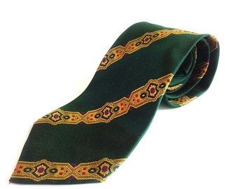 Silk necktie by Gianni Versace // 90s