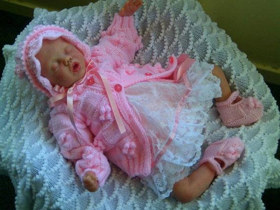 Knitting Patterns For Rosebud Dolls : ROSEBUD baby knitting pattern