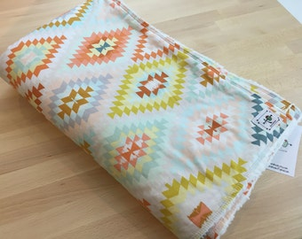 the chic baby blanket - modern aztec