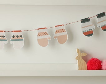Digital / Printable mittens garland