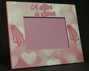 A Star is Born picture frame