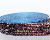 "5Yd Iridescent Stripe 5/8"" Sparkle Ribbon"