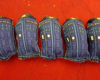 TARDIS catnip toy