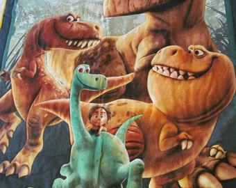 "So cute, Disney's ""The Good Dinosaur"" Baby-child quilt, handmade"