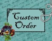 """Custom Order for """"ANN"""""""