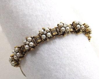 Vintage Seed Pearl Bracelet