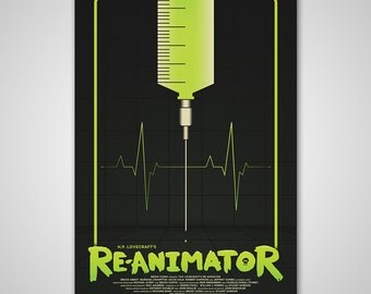 Re-Animator - 16x24 Screen Print