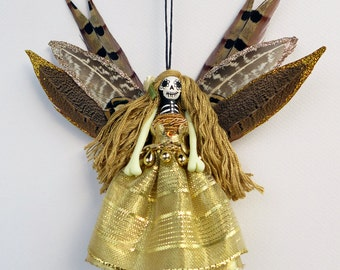 Fairy Ornament, Day of the Dead decoration