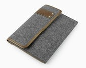 """20% OFF !! New Design Felt iPad Air Case iPad Sleeve 9"""" iPad Mini Cover 11"""" 13"""" 15"""" Macbook Bag Custom Made Fashion Leather Laptop Bag E2419"""