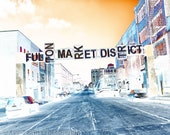 Fulton Market District - Chicago Photography Print urban photo