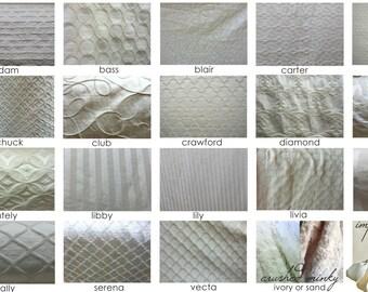 Nursery Fabric Swatches: fabric sample packet,  baby bedding set, nursery bedding set, crib bedding, exclusive Ruby Begonia fabrics
