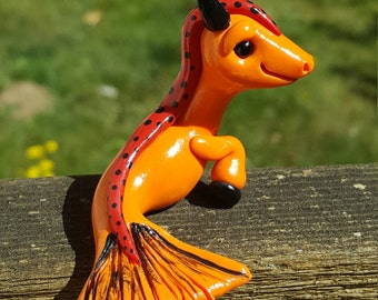 One of a kind ARAARTISTICCREATIONS Capricorn dragon
