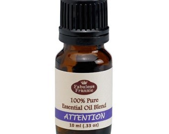 Attention Pure Essential Oil Blend 10ml