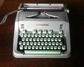 1960s Hermes 3000 Typewriter Made in Switzerland