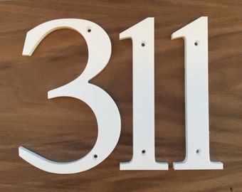 4 inch Traditional House Numbers Letters