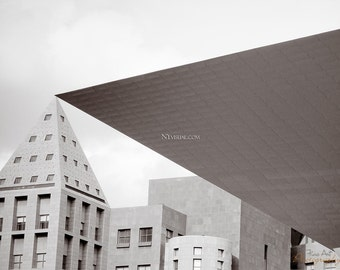 Denver Art Muesum. Original Fine Art photograph / print. Black and white architecture