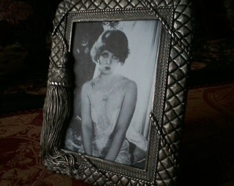 Antique Silver Plated Picture Frame
