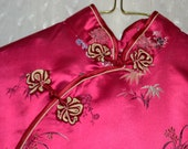 Vintage Oriental dress....Petite....100% Rayon.....Made in China...