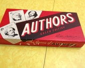 Vintage Authors Card Game - Salem Edition - Parker Brothers - Complete with Original Box