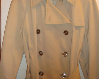 London Fog Coat Size 10 Regular Excellent Condition