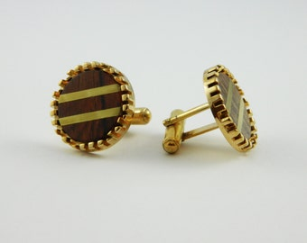 Wood Cuff Links - CL008