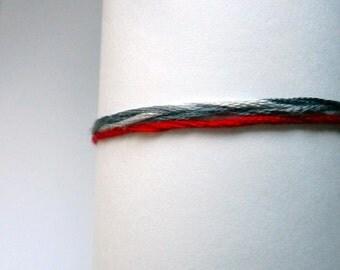 Red String Gorgoneion Bracelet Gray red string bracelet Men's String Bracelet Grey Women's Evil Eye Red String of Fate Blue Hamsa Kabbalah