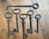 Garden gate lock for 18th key of the door