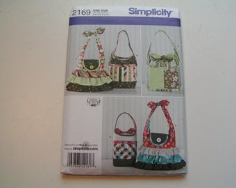 Simplicity Pattern 2169 Bags Shirley Botsford Designs