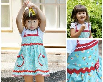 Toddler Dress pockets - PDF Sewing Pattern - The Natalie