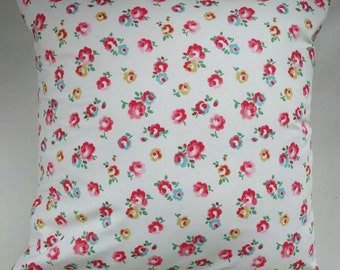 "Cushion Cover in Cath Kidston Freston Rose 16"""