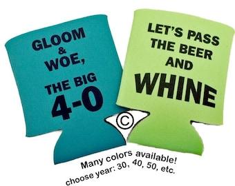 40th Birthday Cozie - Stock Design