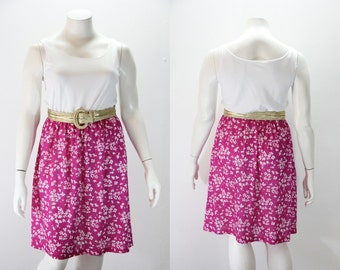 XL - XXL Vintage Dress - Tank Style