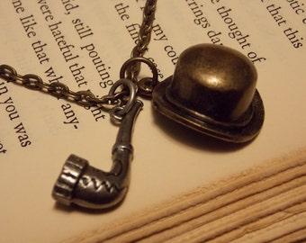 Sherlock Holmes Inspired Necklace