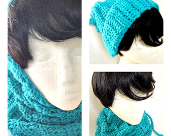 Hat Hoodie & Cowl Three in One