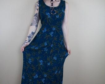 Forest Freedom Vintage Dress