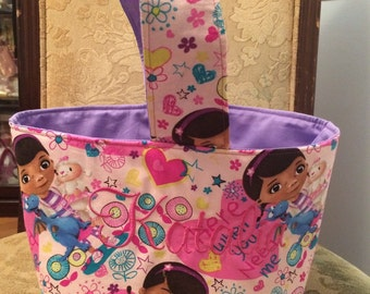 Doc McStuffins Personalized Easter/Trick or Treat Basket