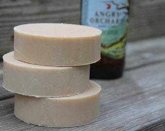 APPLEJACK SHAVE SOAP | Mens Shaving Soap | Angry Orchard Soap | Beer Soap |Hard Cider Soap | Groomsmen Gift | Shaving gifts for Men