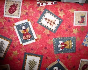 "35"" of Christmas Quilt Cotton Fabric ""Tis The Season"" by Jo Ann Fabrics"