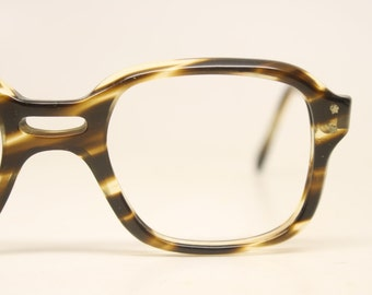 Vintage Eyeglasses  Tortoise Unused New Old Stock 1980s Retro Eyeglass Frames