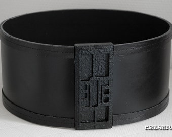 "Star Wars TFA - Kylo Ren Belt with functioning buckle 4.5"" or 5"""
